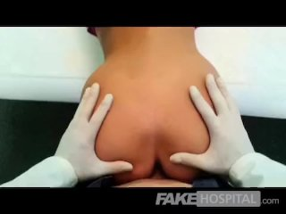 FakeHospital – Slim gorgeous patient