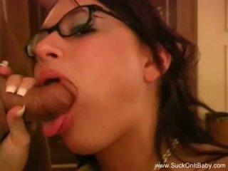 Eva Angelina With Glasses BJ