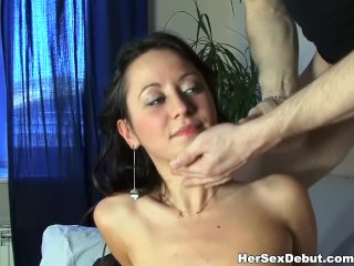 This wild amateur chick is always ready