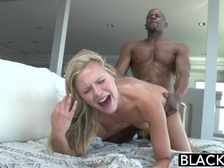 BLACKED Preppy Blonde Girl Loves Big Black Di