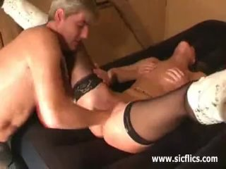 Punch fisting the wifes greedy fuck hole
