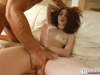 All Internal Redheaded gets her pussy filled