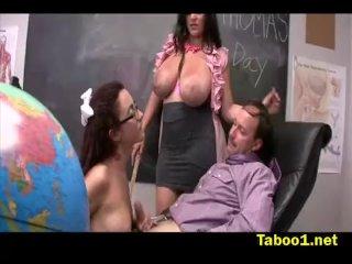 Jerking the Teachers Cock