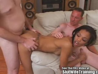 Hot Ass BlackAsian Wife Group Fucked!