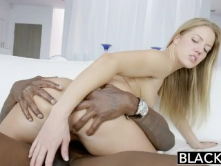 BLACKED Candice Dare Ass Fucked by Huge Black