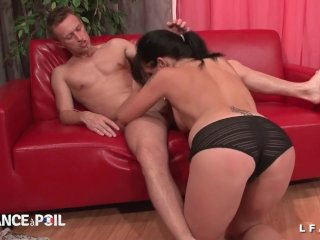 French babe gets deep anal fucked