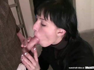 Bitch STOP – Slovak brunette gets anal fucked