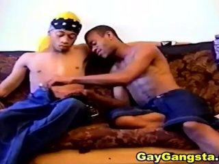 Ebony Gays Hardcore Anal Fucking