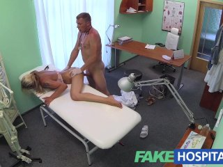 FakeHospital – Doctor probes patients pussy
