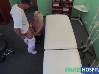FakeHospital Wet and wild blondes