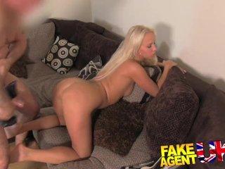 FakeAgentUK – Pretty Czech girl creampied