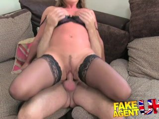FakeAgentUK – Fucking rimming and pussy filling