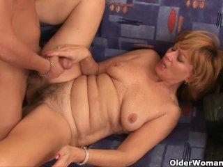 Grandma needs your cock and cum