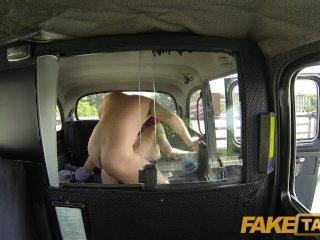 FakeTaxi – Punk rock chick sex in black cab