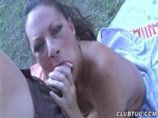 Huge-Titted Milf Loves Big Cumshots