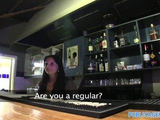 PublicAgent – Loud sexual brunette