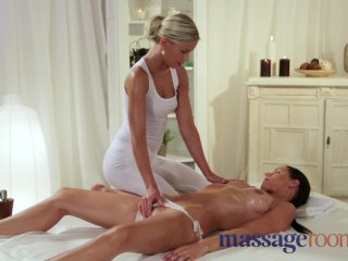Massage Rooms – Moist camel toe pussies