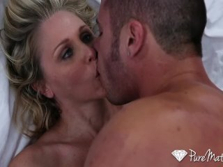 HD – PureMature – Julia Ann floppy tits slap