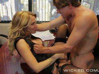 Wicked – Hot Milf Jessica Drake loves cock