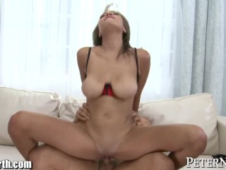 Cassidy Banks' Juicy Jugs Bounce and TitFuck