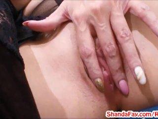 Crotchless Stockings Slut! MILF Shanda Fay!