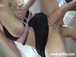 Insatiable blond milf brutally fist fucked