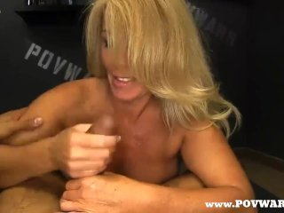 POV Wars Mature babe fucked 5 guys in a row 3