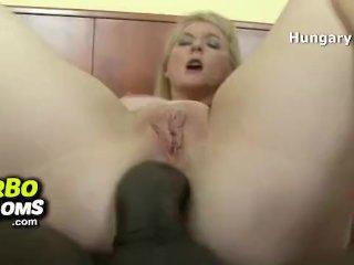 Sexy hungarian mature Aniko grocery fuck