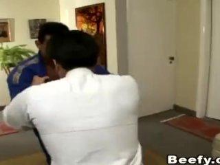 Beefy Gay Karate Teacher Fuck His Student