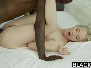BLACKED Blonde Karla Kush Takes Massive Cock