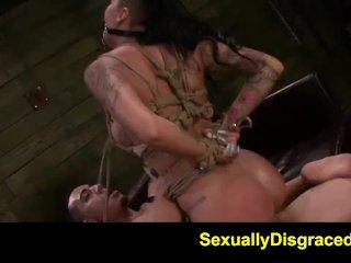 FetishNetwork Alby Rydes hot rope slave