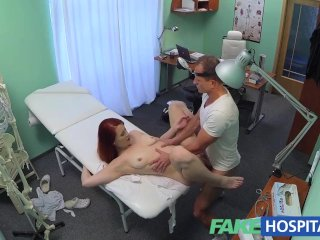 FakeHospital Sexy redhead surprises doctor