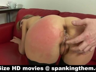 Spanked, punished, humiliated