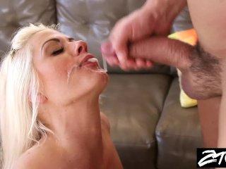 Big Tit Blonde Milf gets revenge on husband
