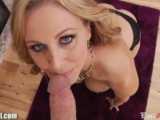 EvilAngel Horny MILF Julia Ann POV Cock Suck
