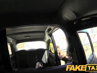 FakeTaxi New cab driver gives a good facial