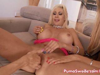 Puma's All Girl Big Tit 3some Sandee, Sandy!