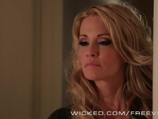 Wicked – Jessica Drake makes her step son cum