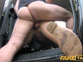 FakeTaxi Hard anal fucking for free taxi ride