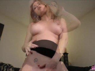 Angela dirty talk masturbation and cock tease