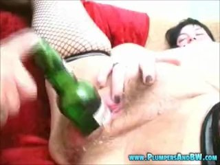 BBW Erika Gets a Cum Shot to the Tits