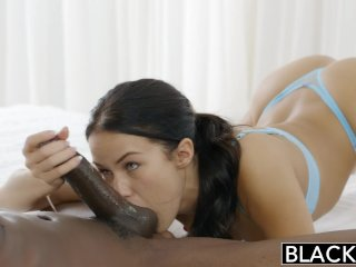 BLACKED Megan Rains First Experience With BBC