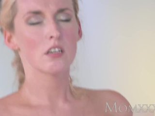 MOM Stunning Milf sucks and fucks stud dry