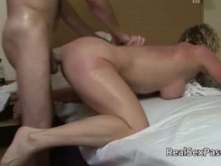Mature amateurs drilled hard and fast