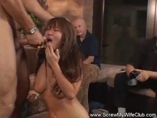 Kinky Swinger Housewife Screwed