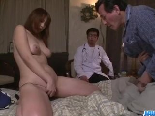 Araki Hitomi busty milf craves for a hard fu