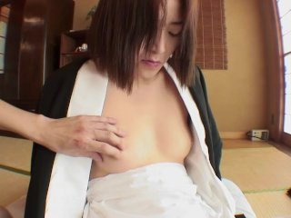 Uncensored Japanese milf with hairy slit Subs