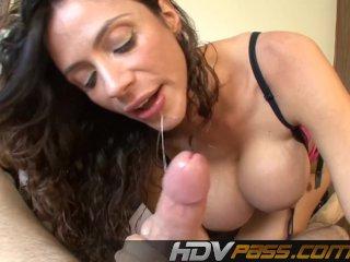 Hot MILF Ariella Ferrara Blows POV