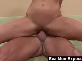 RealMomExposed  Busty Milf Picked Up At The