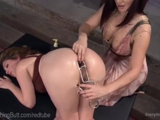 Gorgeous Empress Trains Her Anal Slave